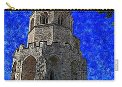 Medieval Bell Tower 4 Carry-all Pouch
