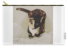 Cat Photographs Carry-All Pouches