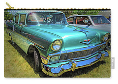 Metallic Green 1956 Chevy Sedan Carry-all Pouch