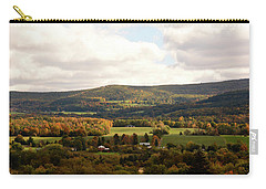 Carry-all Pouch featuring the photograph Middleburg In New York by Angie Tirado