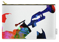 Miles Davis Watercolor Carry-all Pouch