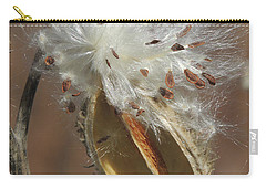 Milkweed Burst Carry-all Pouch