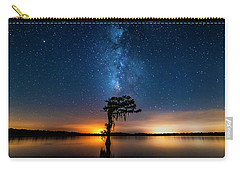 Carry-all Pouch featuring the photograph Milky Way Swamp by Andy Crawford