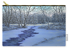 Millhaven Creek In Winter Carry-all Pouch