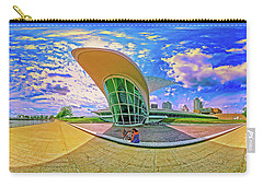 Carry-all Pouch featuring the photograph Milwaukee Art Musem  Tom Jelen by Tom Jelen