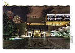 Carry-all Pouch featuring the photograph Milwaukee County War Memorial by Randy Scherkenbach