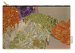 Carry-all Pouch featuring the photograph Mineral Medley 7 by Lynda Lehmann