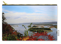 Mississippi River In The Fall Carry-all Pouch