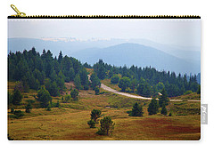 Carry-all Pouch featuring the photograph Misty Afternoon by Milena Ilieva