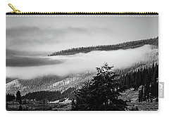 Carry-all Pouch featuring the photograph Misty Mountain  by Pete Federico