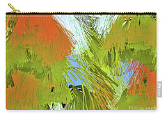 Modern Art   Tropical Flare  Abstract Carry-all Pouch