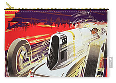 Monaco Grand Prix 1930, Vintage Racing Poster Carry-all Pouch