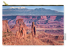 Carry-all Pouch featuring the photograph Monster Tower by Andy Crawford