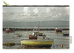 Morecambe. Boats On The Shore. Carry-all Pouch