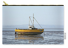 Morecambe. Yellow Fishing Boat. Carry-all Pouch