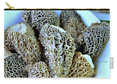 Morel Mushrooms Carry-all Pouch