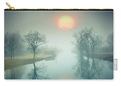 Carry-all Pouch featuring the photograph Morning Mist by Edmund Nagele