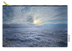 Morning Time Blues Carry-all Pouch