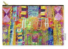 Mosaic Garden Carry-all Pouch