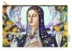Carry-all Pouch featuring the digital art Mother Mary by Pennie McCracken