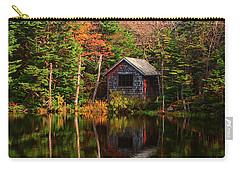 Carry-all Pouch featuring the photograph Mount Greylock Cabin by Raymond Salani III