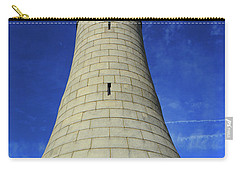 Carry-all Pouch featuring the photograph Mount Greylock Tower Up And Close by Raymond Salani III