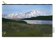 Mount Mckinley From Wonder Lake  Carry-all Pouch