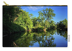 Carry-all Pouch featuring the photograph Mount Vernon Iowa by Dan Miller