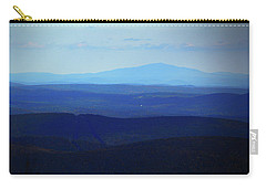 Carry-all Pouch featuring the photograph Mount Monadnock From Mount Greylock by Raymond Salani III