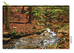 Carry-all Pouch featuring the photograph Mountain Creek In Ma by Raymond Salani III