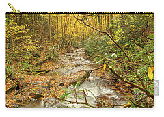 Carry-all Pouch featuring the photograph Mountain Stream by Meta Gatschenberger