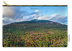 Carry-all Pouch featuring the photograph Mountain That Stands Alone by Michael Hughes