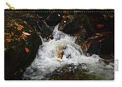 Carry-all Pouch featuring the photograph Mountain Water by Raymond Salani III