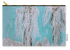Mr And Mrs Angels Carry-all Pouch