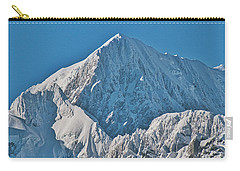 Carry-all Pouch featuring the photograph Mt Cook - New Zealand Alps by Steven Ralser
