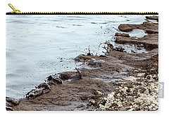 Muddy Sea Shore Carry-all Pouch