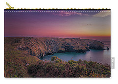 Mullion Cove Cornwall Sunset Carry-all Pouch