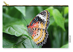 Multi Colored Butterfly Carry-all Pouch