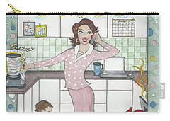 Multi-tasking Mama I Carry-all Pouch