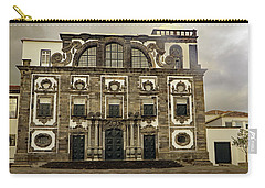 Carry-all Pouch featuring the photograph Museu Carlos Machado by Tony Murtagh