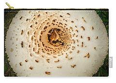 Mushroom Mandala Carry-all Pouch