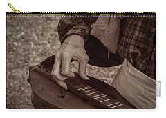 Carry-all Pouch featuring the photograph Musician 1349 by Guy Whiteley