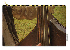 Carry-all Pouch featuring the photograph Musician 1370 by Guy Whiteley