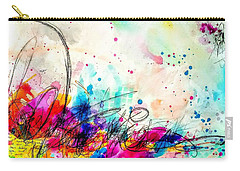 Carry-all Pouch featuring the painting My Ben, Be Mine, All Mine 2 by Tracy Bonin