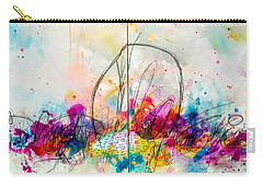 Carry-all Pouch featuring the painting My Ben, Be Mine, All Mine by Tracy Bonin