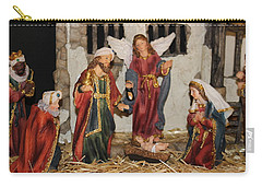 My German Traditions - Christmas Nativity Scene Carry-all Pouch