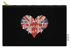 My Heart Belongs To Prince Harry Carry-all Pouch