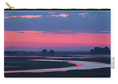 Carry-all Pouch featuring the photograph Mystical River by Davor Zerjav