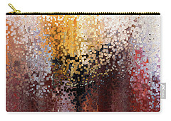 Carry-all Pouch featuring the painting Nahum 1 7. A Stronghold by Mark Lawrence