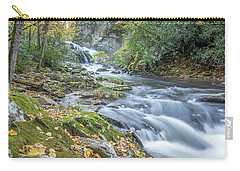 Carry-all Pouch featuring the photograph Nantahala Fall Flow by David R Robinson